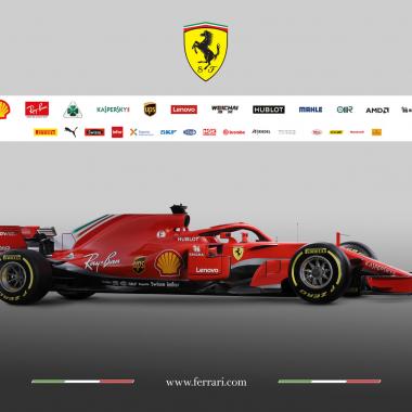 2018 Scuderia Ferrari car - SF71H