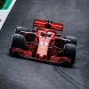 2018 Scuderia Ferrari on track