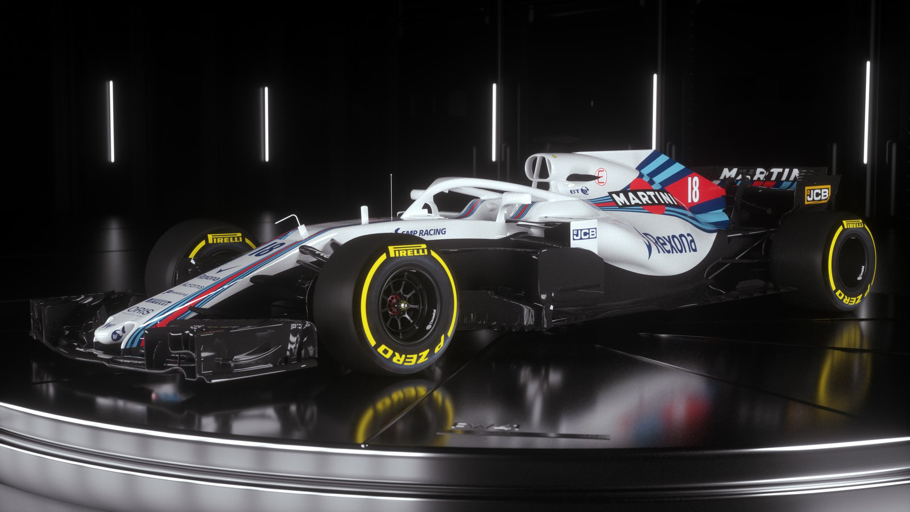 2018 Williams F1 car photos