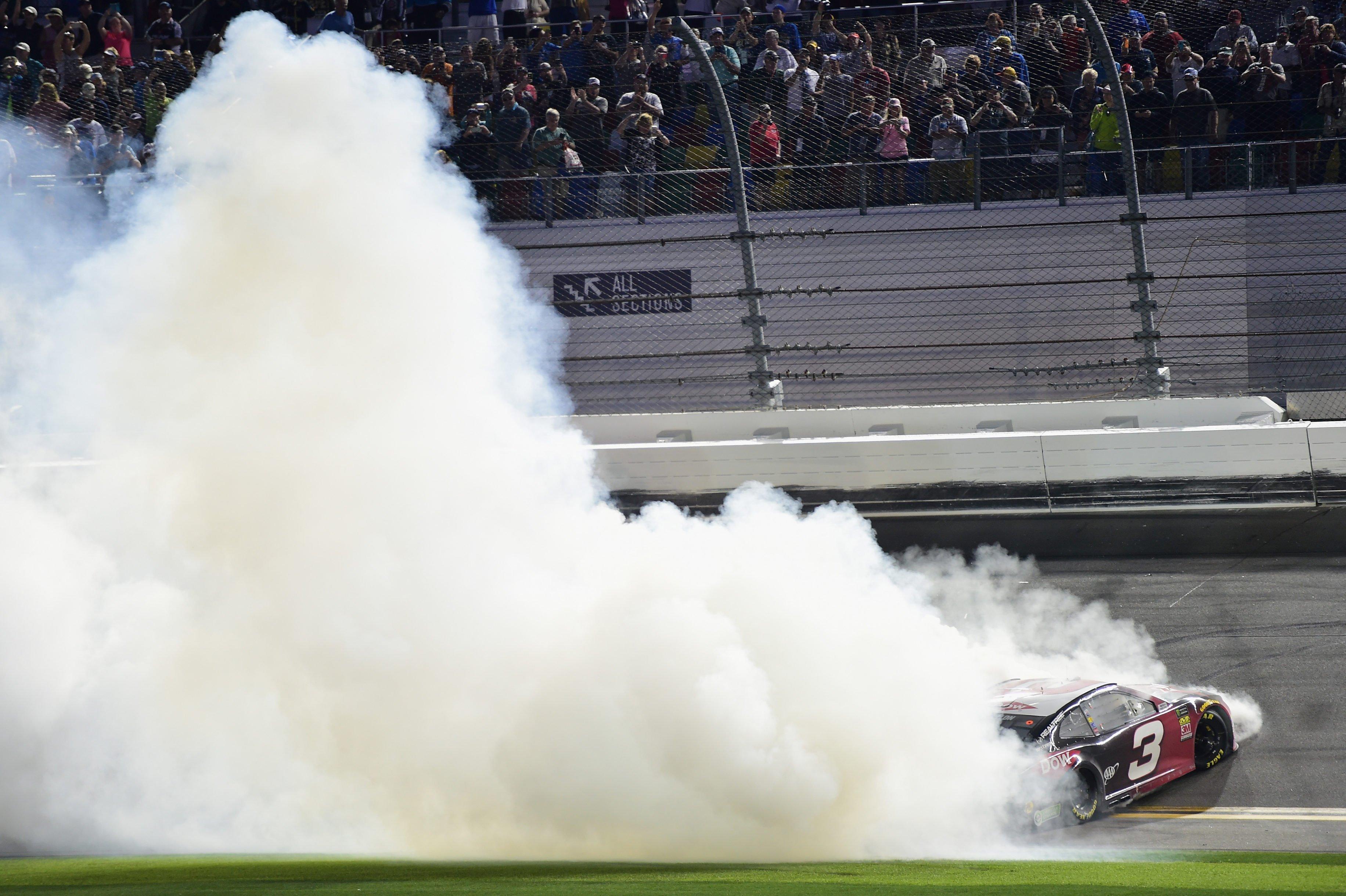 Austin Dillon wins the Daytona 500 in the #3