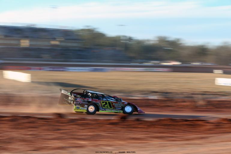 Billy Moyer Jr at Golden Isles Speedway 6235