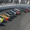 Brad Keselowski leads the 2018 Clash at Daytona