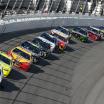 Brad Keselowski leads the 2018 Clash at Daytona