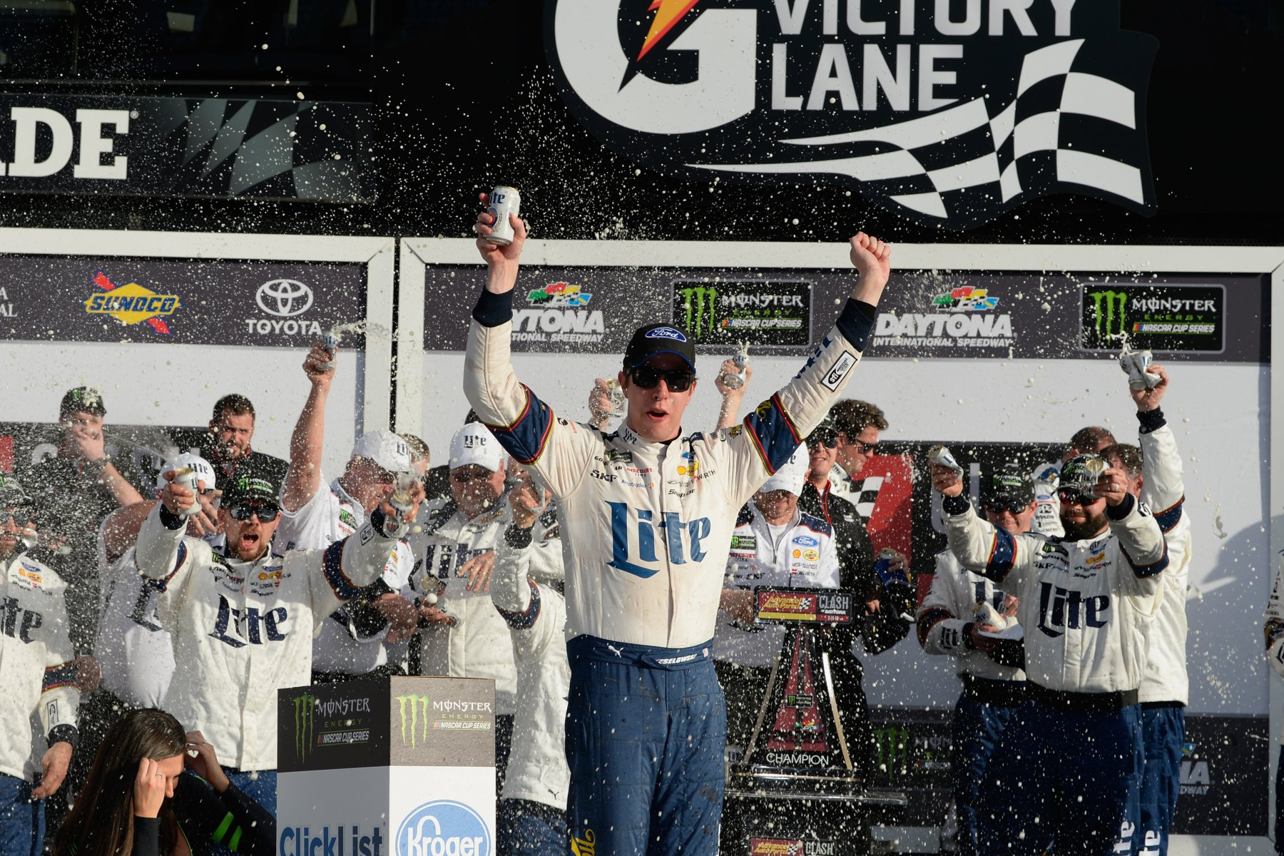 Brad Keselowski wins The Clash at Daytona