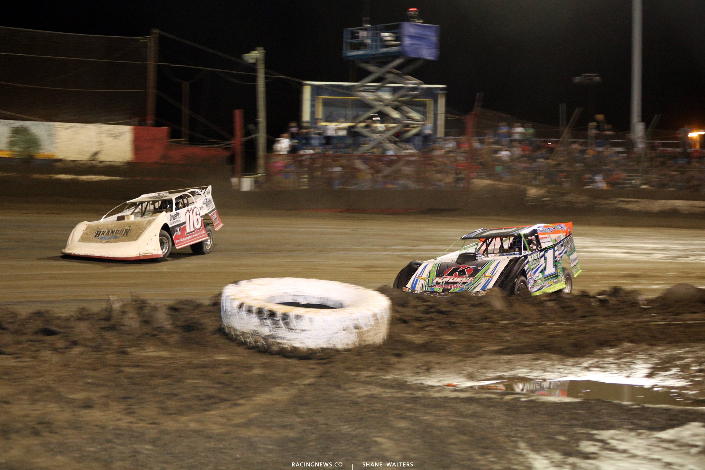 Brandon Overton and Josh Richards at East Bay Raceway Park 0076