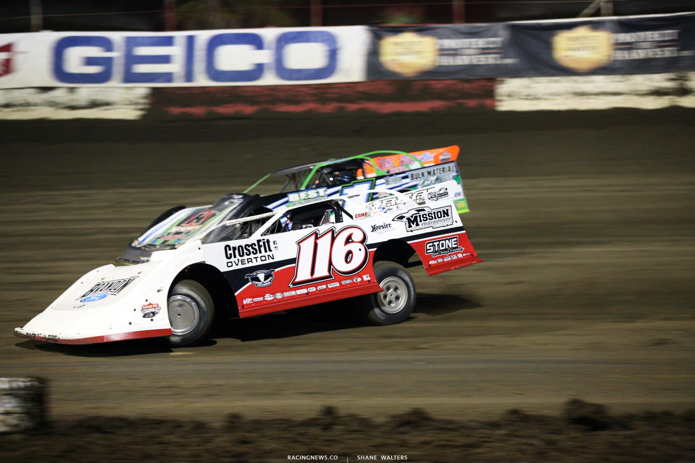Brandon Overton and Josh Richards at East Bay Raceway Park 8812