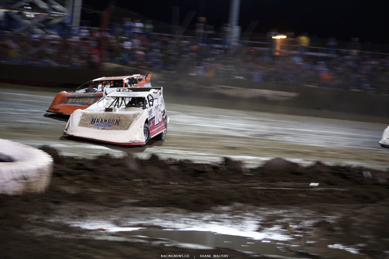 Brandon Overton and Kyle Bronson at East Bay Raceway Park 0099