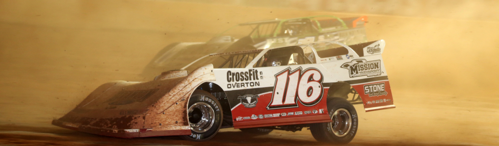 Brandon Overton is down to 1 car and 1 loaned motor; 9 races remain for Speedweeks