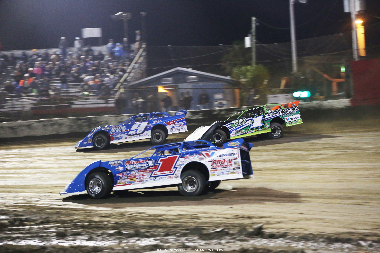 Brandon Sheppard, Josh Richards and Devin Moran at East Bay Raceway Park 7773