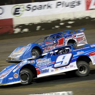 Brandon Sheppard and Devin Moran at East Bay Raceway Park 7819
