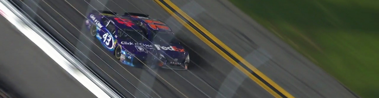 Once removed, Bubba Wallace has rejoined Hamlin's Hoop Group