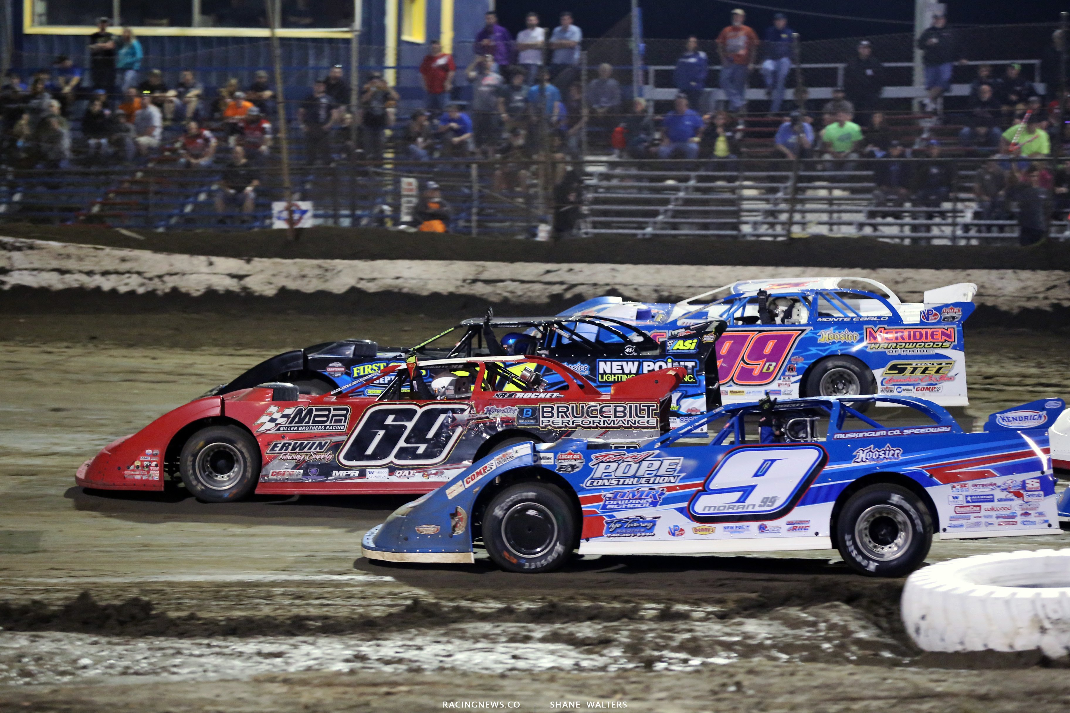 Carder Miller at East Bay Raceway Park - $ wide salute 8211