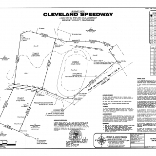 Cleveland Speedway Property Map
