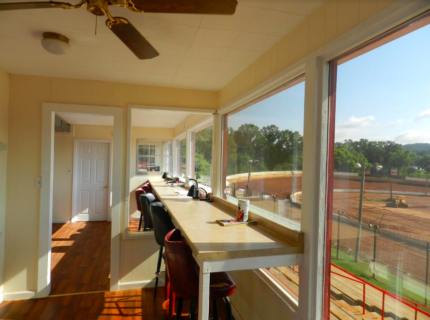 Cleveland Speedway press box
