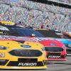 Clint Bowyer, Kurt Busch and Kyle Busch - Monster Energy NASCAR Cup Series