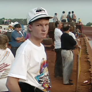 Dale Earnhardt Jr at the dirt track