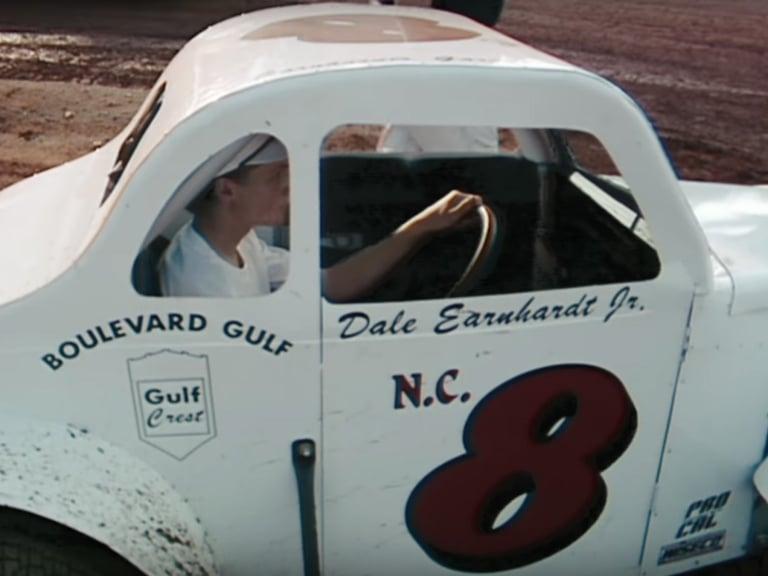 Dale Earnhardt Jr dirt racing