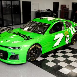 Danica Patrick 2018 NASCAR paint scheme - No.7 Chevy