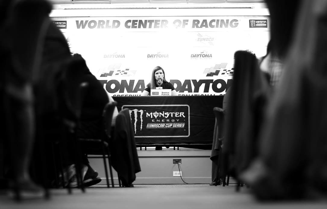Danica Patrick at Daytona International Speedway - Media