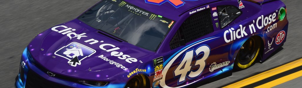 Denny Hamlin and Bubba Wallace were involved in a heated exchange (VIDEO)