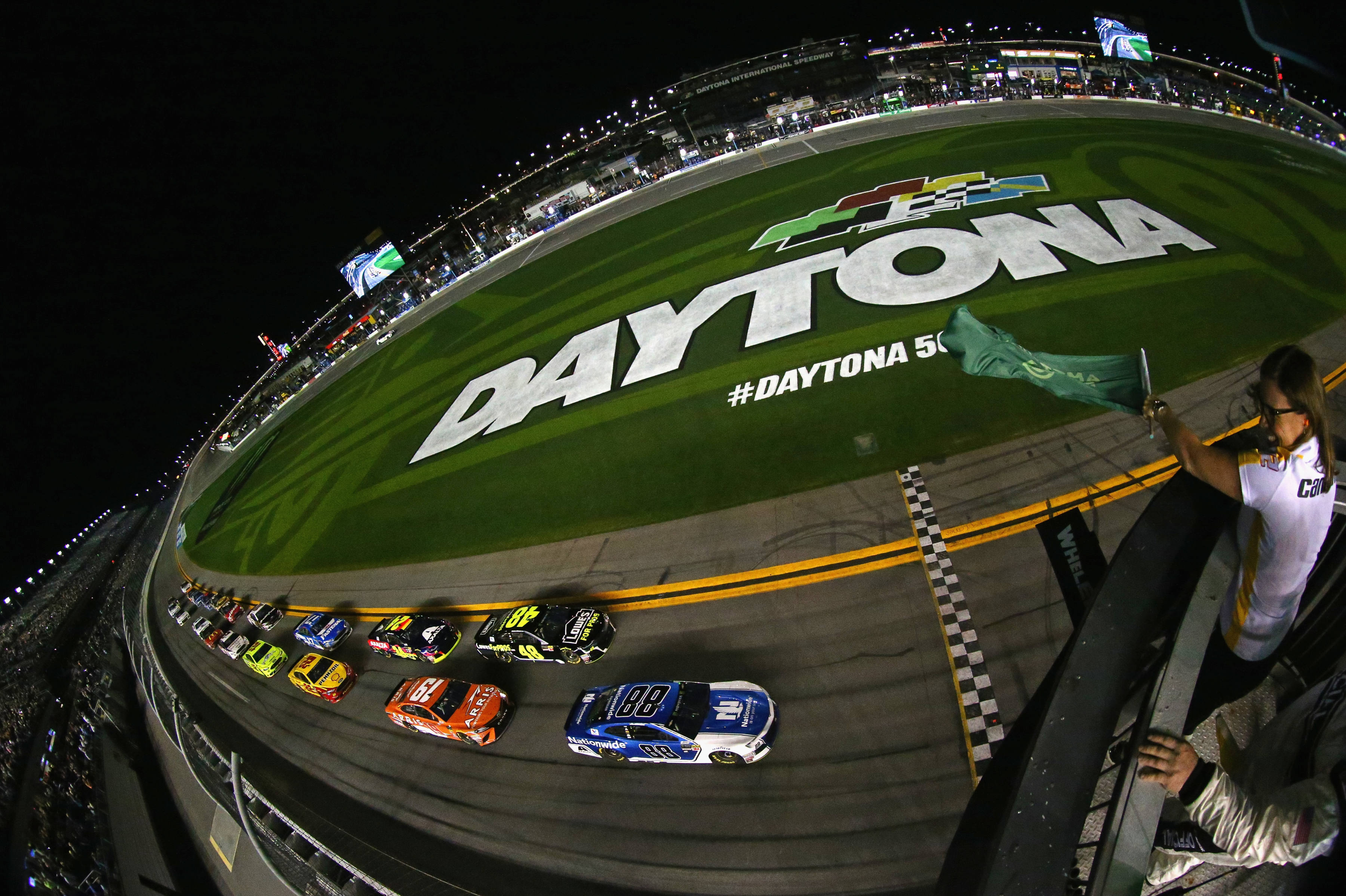 Daytona Duels - Alex Bowman and Jimmie Johnson