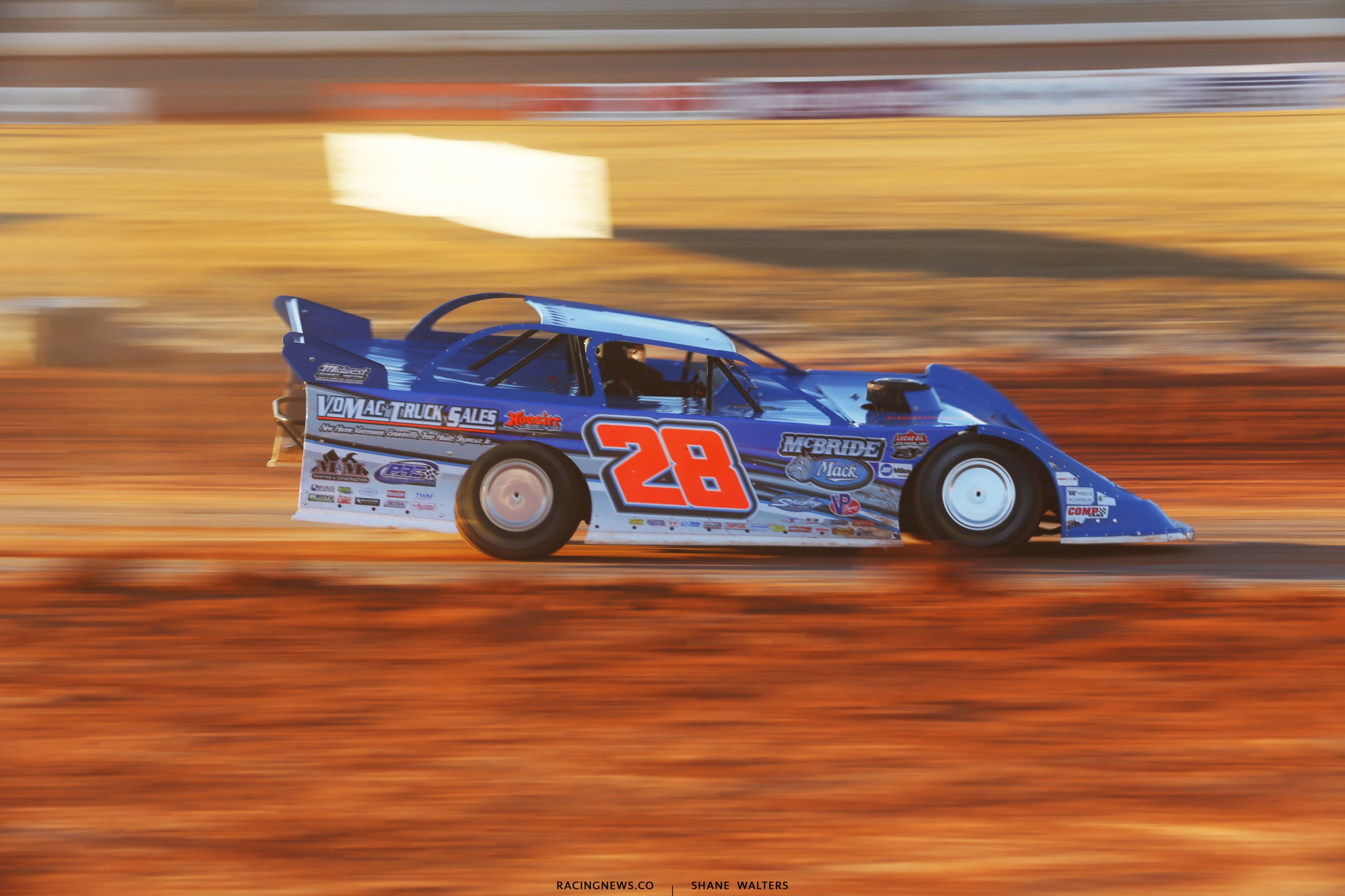 Dennis Erb Jr in the Lucas Oil Late Model Dirt Series event at Golden Isles Speedway 6321