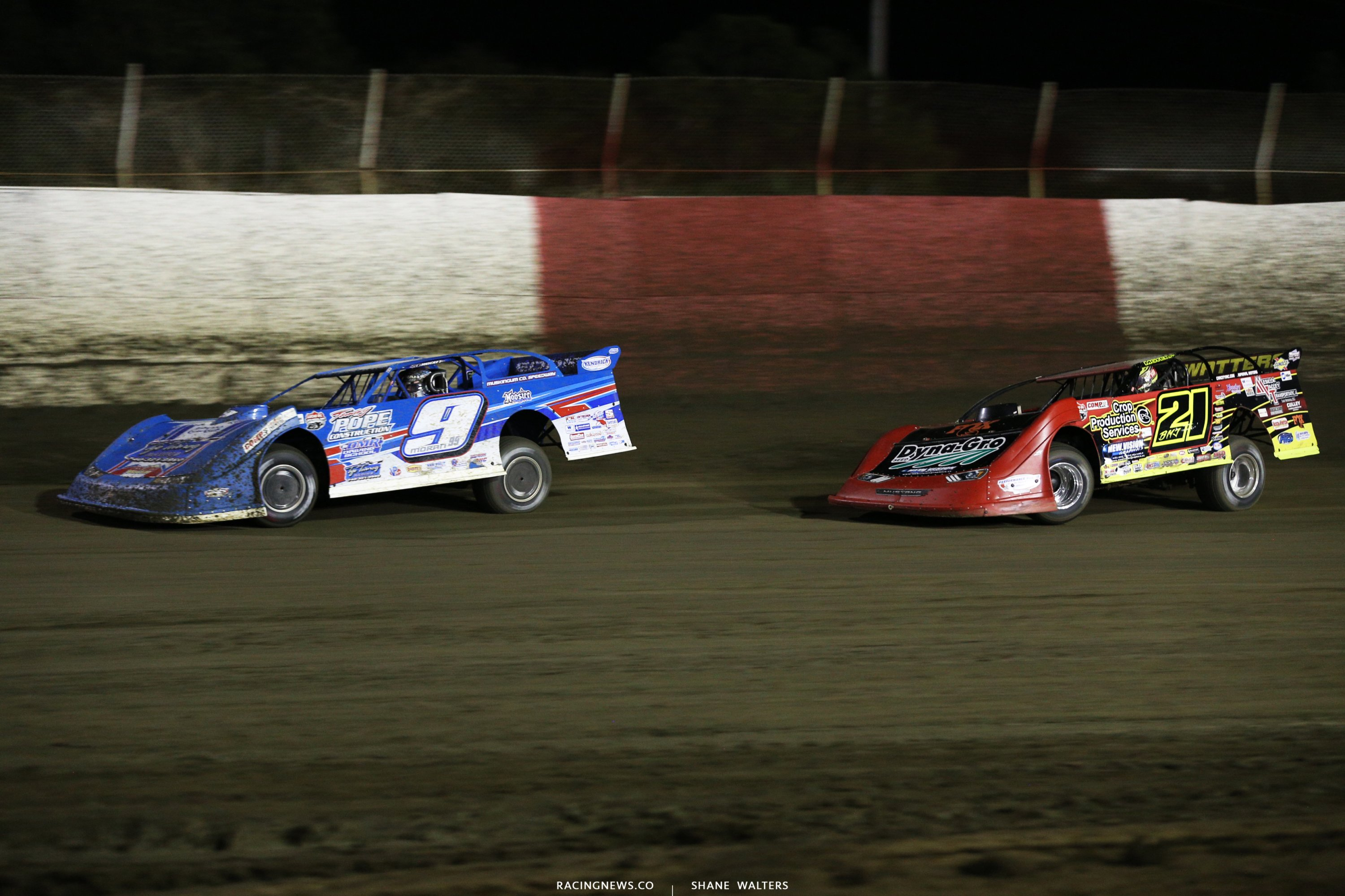 Devin Moran and Billy Moyer Jr at East Bay Raceway Park 9614