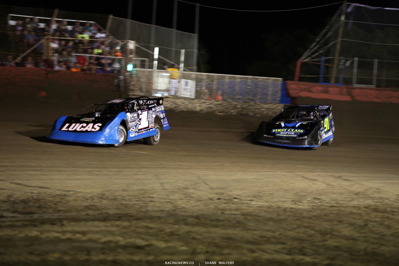 Earl Pearson Jr and Tyler Erb at East Bay Raceway Park 9642