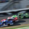 Elliott Sadler, Ryan Reed and Daniel Suarez at Daytona International Speedway