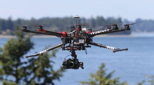 Fox Sports Drone