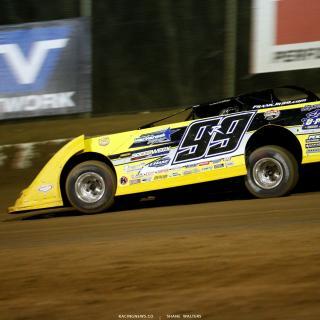 Frank Heckenast Jr at Florence Speedway 8487