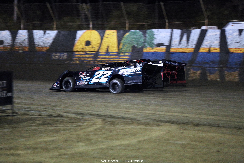 Gregg Satterlee and Bobby Pierce at East Bay Raceway Park 9128