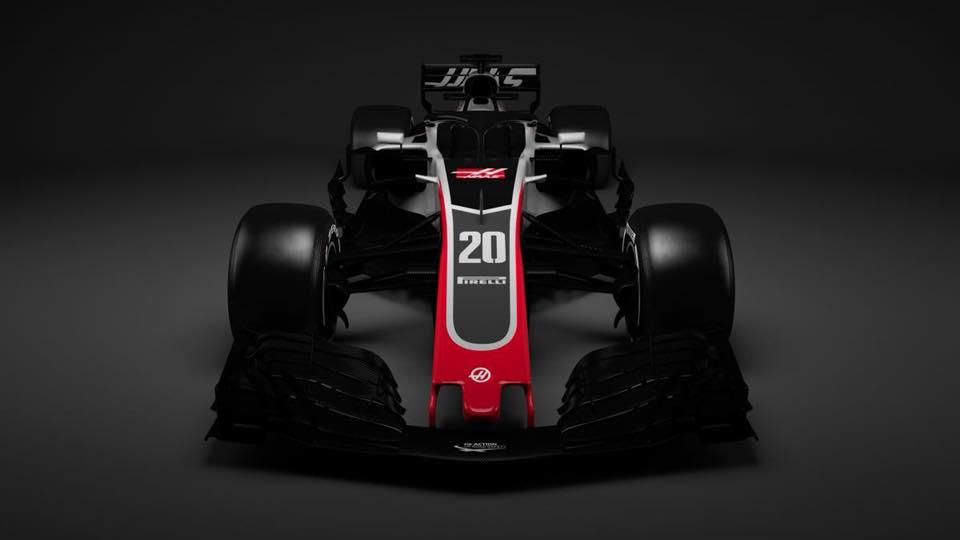 Haas F1 2018 car photo