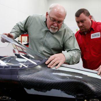 Indycar Series windscreen