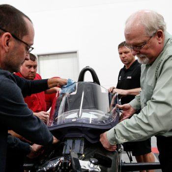 Indycar windscreen photo