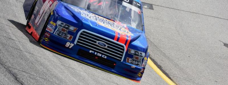 Jesse Little scored his best career NASCAR finish