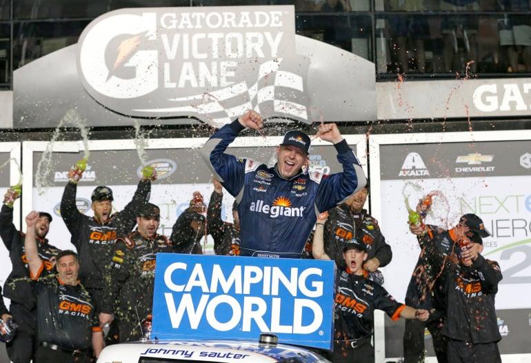 Johnny Sauter wins at Daytona