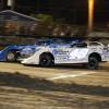Jonathan Davenport and Hudson O'Neal at East Bay Raceway Park 9921