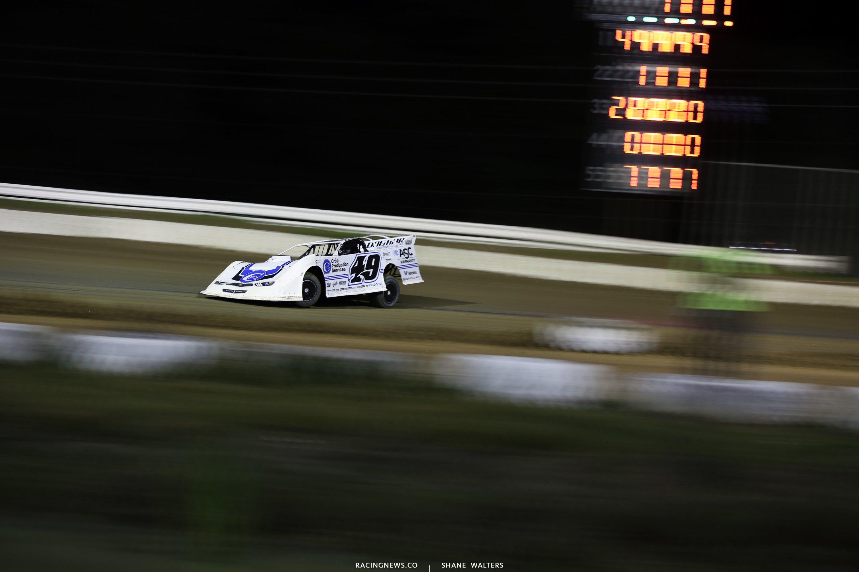 Jonathan Davenport at Bubba Raceway Park 0591