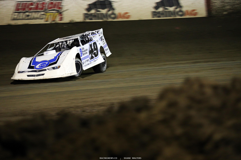 Jonathan Davenport at East Bay Raceway Park 9738
