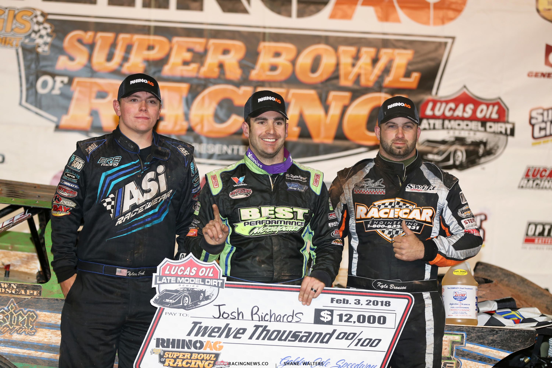 Josh Richards, Kyle Bronson, Tyler Erb - LOLMDS Podium 7437