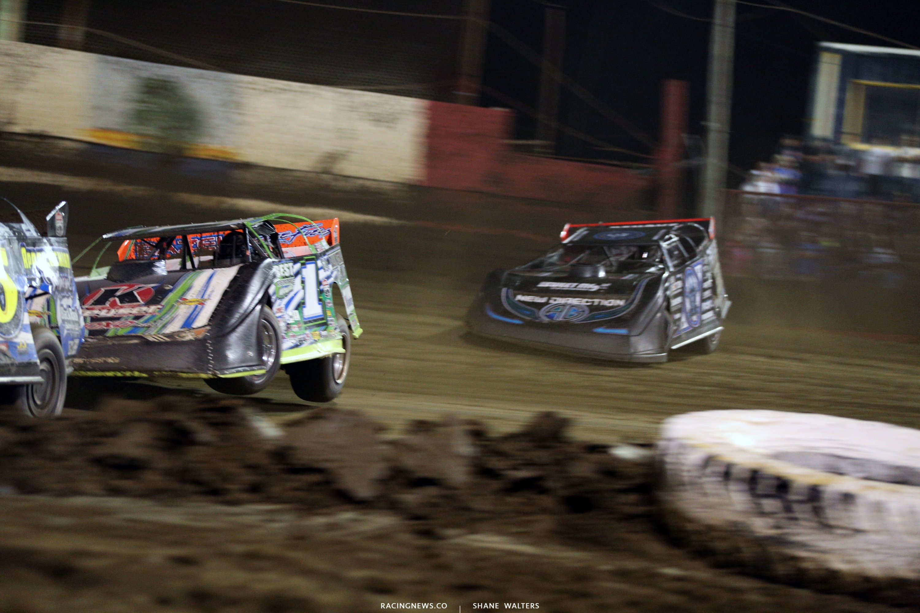 Josh Richards and Scott Bloomquist at East Bay 0053