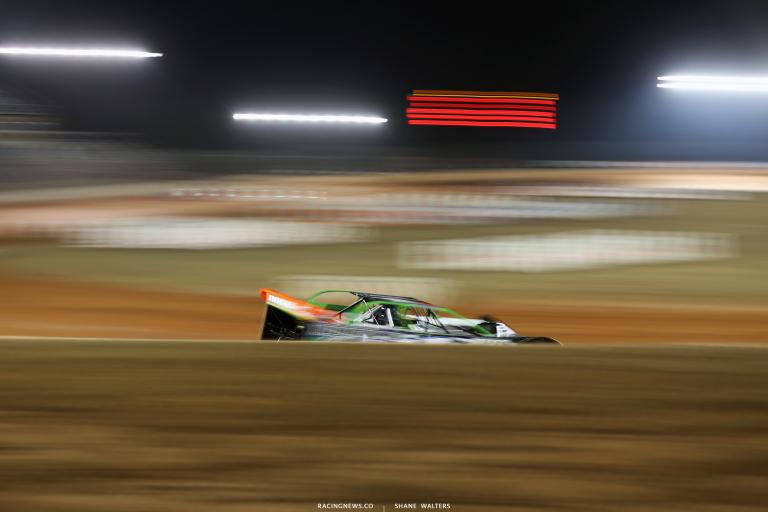 Josh Richards at Golden Isles Speedway 5801