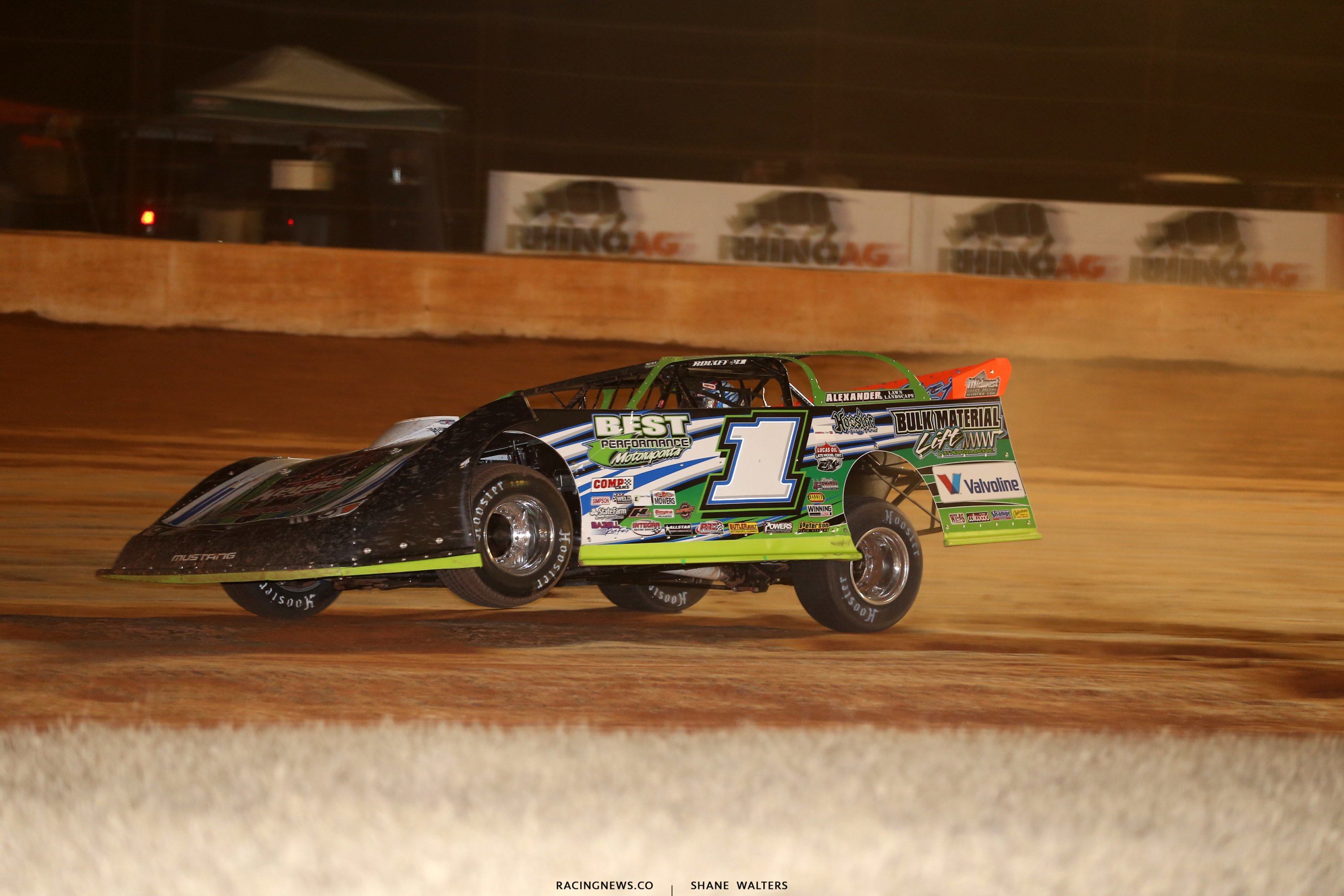 Josh Richards in the Lucas Oil Late Model Dirt Series event in Georgia 6916