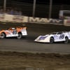 Kyle Bronson and Jonathan Davenport at East Bay Raceway Park 0118