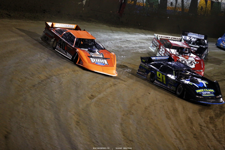 Kyle Bronson and Tyler Erb at East Bay Raceway Park 8172