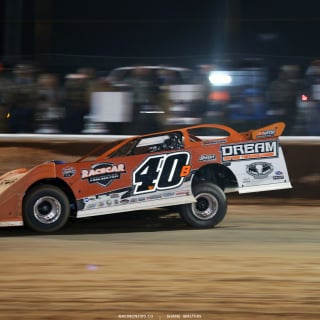Kyle Bronson in his Longhorn Chassis at Golden Isles Speedway 7395
