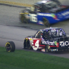 Kyle Busch loses a tire at Atlanta