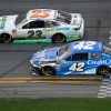 Kyle Larson and Gray Gaulding