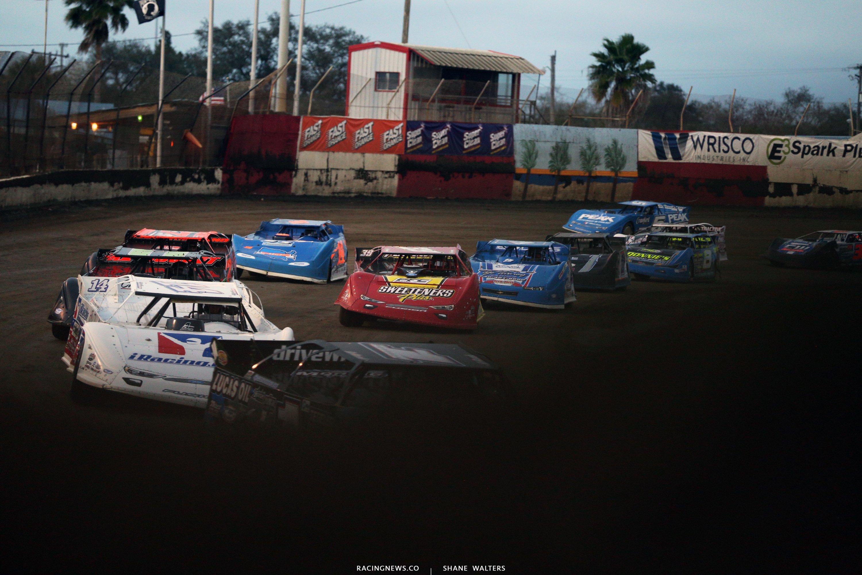 Lucas Oil Late Model Dirt Series at East Bay Raceway Park 8886
